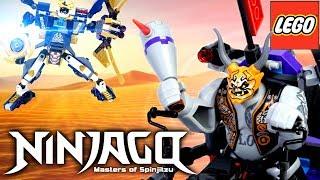 LEGO Ninjago 70642 Киллоу против Самурая Икс Обзор