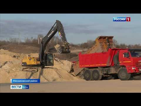 На западе Ростовского транспортного кольца уже приступили к строительству многоуровневой эстакады