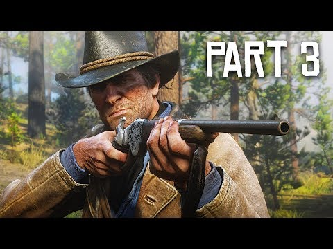 Red Dead Redemption 2 Gameplay Walkthrough, Part 3 - BLACKWATER! (RDR 2 PS4 Pro Gameplay)
