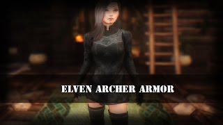 TES 5: Skyrim | Броня эльфийской лучницы