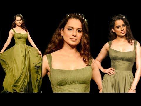 Kangana Ranaut Stunning Rampwalk, Plays With Her G