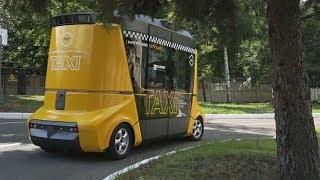 В Москве показали беспилотное такси «Матрёшку» (новости)