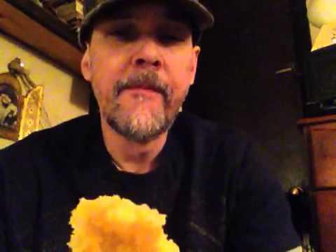 Northern redneck eating cornbread