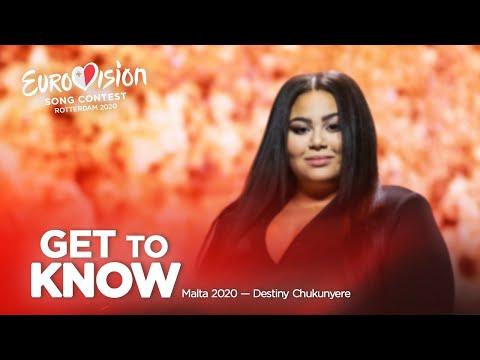 🇲🇹: Get To Know - Malta 2020 - Destiny Chukunyere