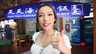 Delicious CHEAP EATS in Singapore | Maxwell Hawker