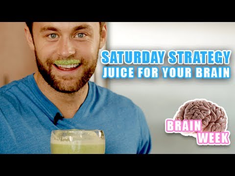Video Juice Recipe - Juice for your Brain