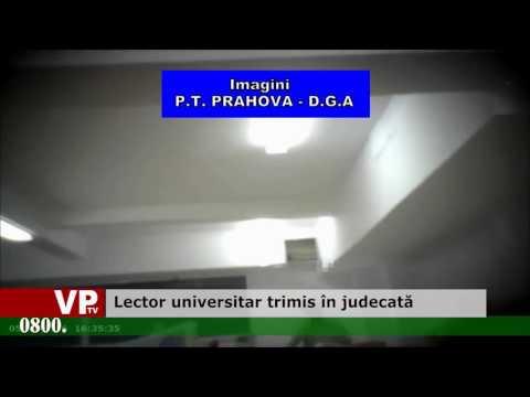 Lector universitar trimis în judecată