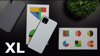 Google Pixel 4 XL Unboxing - Clearly White 128GB