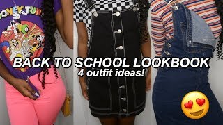 BACK TO SCHOOL LOOKBOOK |4 Highschool Outfit Ideas