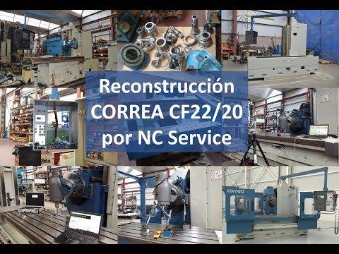 Fresadora CORREA CF22/20 reconstruida por NC Service