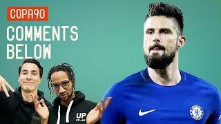 Should Giroud Lead Chelsea Attack vs Barcelona? | Comments Below