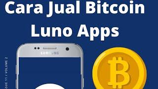 Cara Jual Bitcoin Luno Wallet Tukar BTC ke MYR