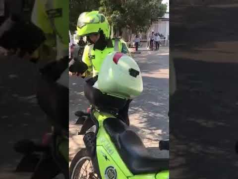 Indignacion por procedimiento policial en Barranquilla