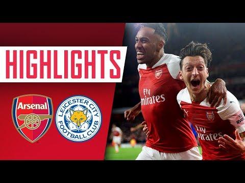 GOALS & HIGHLIGHTS   Arsenal 3 - 1 Leicester City
