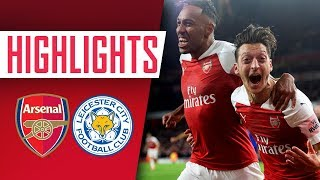 GOALS & HIGHLIGHTS | Arsenal 3 - 1 Leicester City