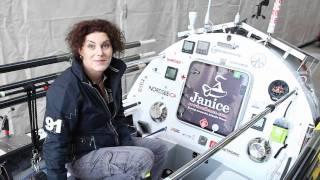 Bifröst, das Boot von Janice - eine Hightech-Nussschale