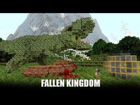 Jurassic World: Fallen Kingdom - Official Minecraft Trailer [HD]