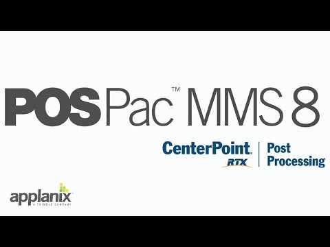 Applanix POSPac MMS 8 | Geo-matching com