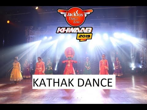 Kathak stage perfomance | summer camp students |Khwaab 2019 | Jackson Dance Zone