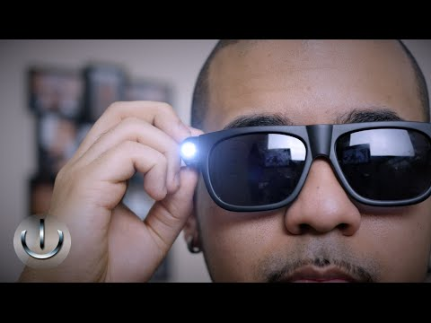 ICE Theia Glares - Wearable Video Camera Glasses w/ Bluetooth Headset