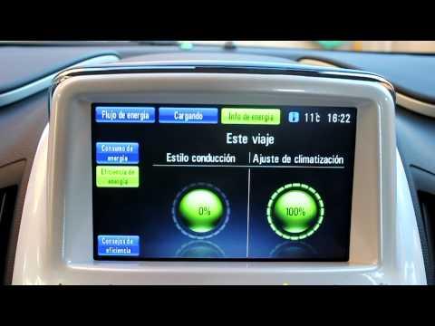 Chevrolet Volt. Pantalla del salpicadero