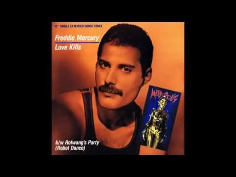 Freddie Mercury -  Love Kills (Extended Dance Remix)