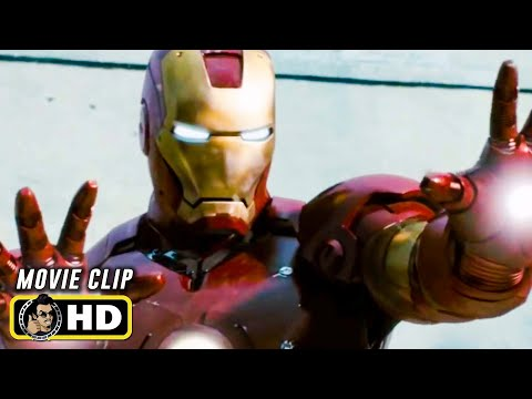 IRON MAN Clip - Rescue (2008) Robert Downey Jr. Marvel