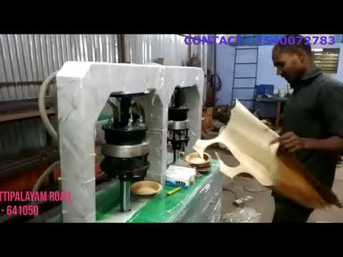 Automatic Areca Nut Leaf Plate Making Machine