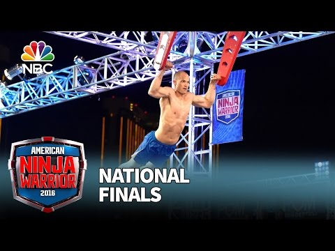 Brian Arnold at the National Finals: Stage 1 - American Ninja Warrior 2016