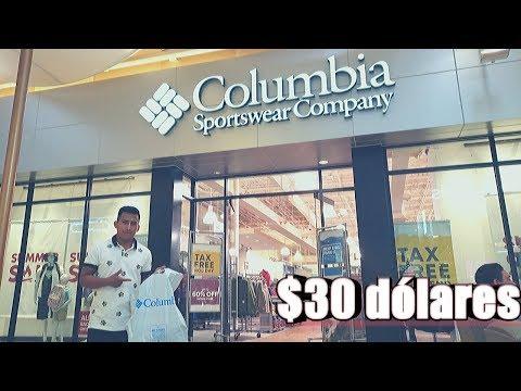 QUE PUEDES COMPRAR CON $30 DOLARES EN COLUMBIA SPORTSWEAR|CARLOS TE DA A CONOCER