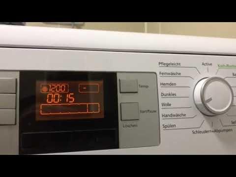 Beko Waschmaschine Fehler