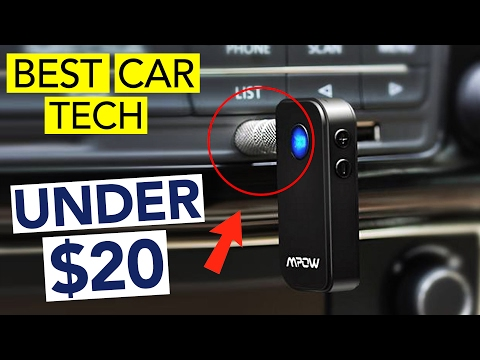 BEST CAR TECH UNDER $20 (February 2017 Deals)