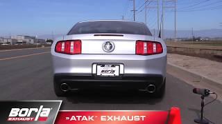 Video: Borla Entwicklungsvideo zum Ford Mustang 3.7l V6 Sportauspuff