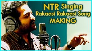 """Jr.NTR"" Rakasi Rakasi Song Making 