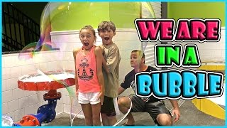 OUR BUBBLE LIFE AT WONDERWORKS | We Are The Davises