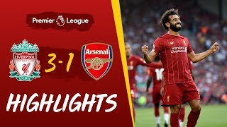 Highlights: Liverpool vs Arsenal | Salah at the double against the Gunners