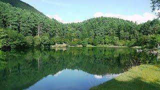 「いずみ湖公園キャンプ場無料」予約制長野県キャンプ諏訪湖の北東!静かな湖畔と広いサイト!のびのびできるキャンプ場