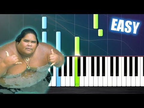 "Somewhere Over The Rainbow - Israel ""IZ"" Kamakawiwoʻole - EASY Piano Tutorial By PlutaX Mp3"