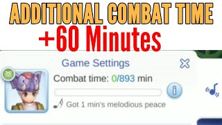 Increase Battle time (stamina) by 60minutes everyday in Ragnarok M: Eternal love