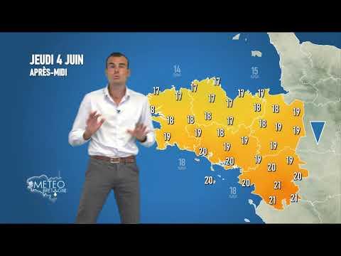 Illustration de l'actualité La météo de votre jeudi 4 juin 2020