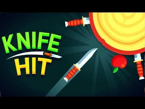 удар ножом  в игре Knife Hit - это  увлекательная аркада от  Ketchapp  Как я сражался с БОССАМИ