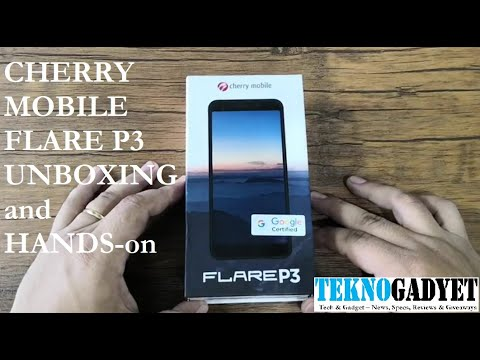 Cherry Mobile Flare P3 Unboxing and Hands-on