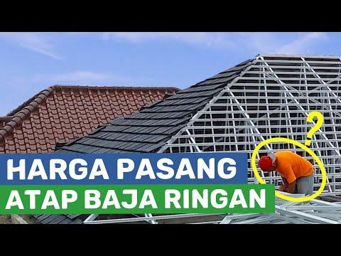 youtube cara membuat kanopi baja ringan proses pembuatan seng buat atap rumah