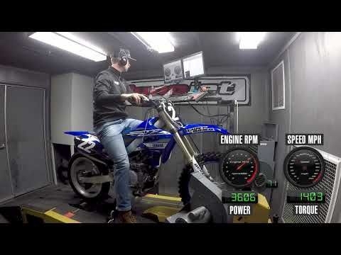 How Much Power Does The 2019 Yamaha YZ250F Make?