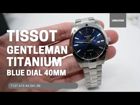 Tissot Gentleman Titanium T1274104404100