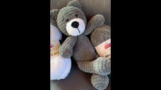 Crochet Teddy Bear, Horgolt Mackó