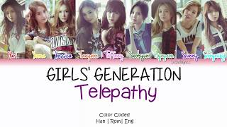 Girls' Generation (소녀시대) - Telepathy Lyrics [Color Coded/HAN/ROM/ENG]