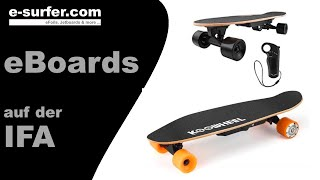 ELECTRIC BOARDS COMPARISON at IFA 2017