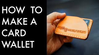 How To Make A Card Wallet With Acrylic Templates