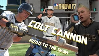 MLB The Show 17 Introducing Colt Cannon Road To The Show Left Fielder EP1 MLB 17